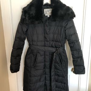 London Fog Heritage Quilted Puffer Coat